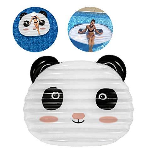 MYRCLMY Aufblasbarer Panda Pool Schwimm Panda Schwimm-Wasser-Spaß, Sommer-Strand-Pool, Aufblasbare Pool-Party, Freizeit Spielzeug Geeignet Für Kinder Erwachsene
