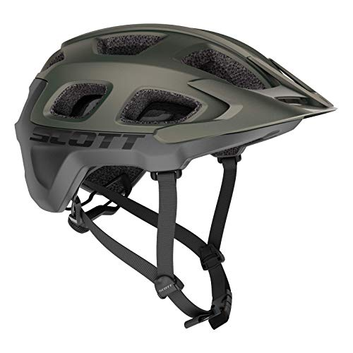 Scott Vivo Plus MTB Adult Helmet Best All Mountain Bicycle Helmet CPSC Approved MIPS Technology (Komodo Green, Large)