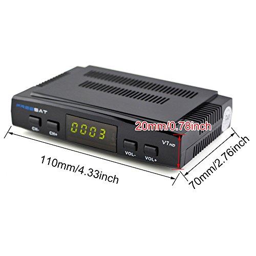 『Signstek 地上デジタルチューナー 1080P HD衛星テレビ受信機 衛星放送受信機 8チャンネル USB/WIFIでアップグレード』の6枚目の画像