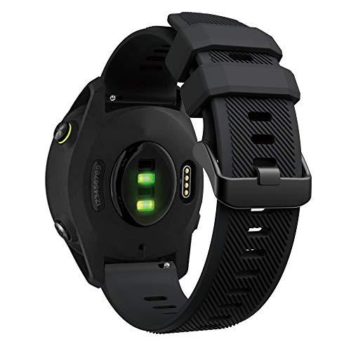 YASPARK Cinturino per Forerunner 745/Huawei Watch GT 2 46mm, 22mm Cinturino per Orologio in Silicone Cinturino per Galaxy Watch 46mm/Gear S3 Frontier/Classic/Galaxy Watch 3 45mm