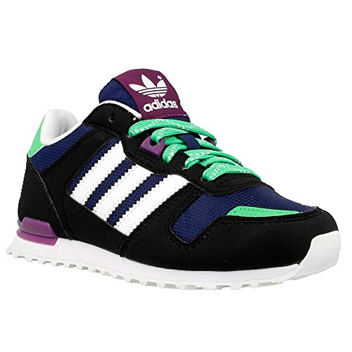 adidas - ZX 700 K - B25618 - Color: Navy Blue-Green-Black - Size: 5.5