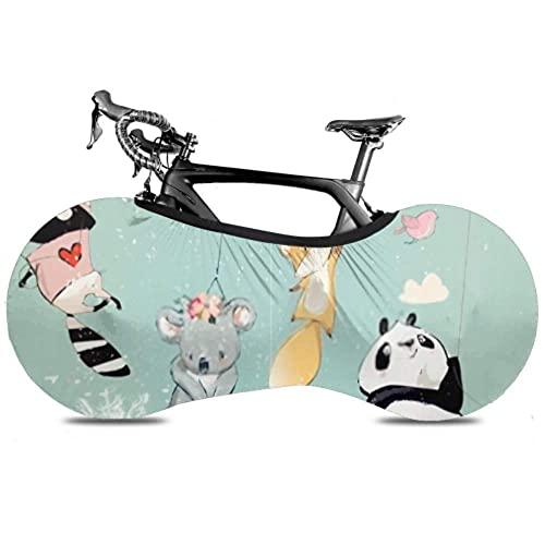 Colección de fundas para ruedas de bicicleta Cute Birthday Fly s Globos - Bolsa de almacenamiento para interiores de bicicletas para polvo Bolsa de neumáticos de alta elasticidad lavables a prueba d