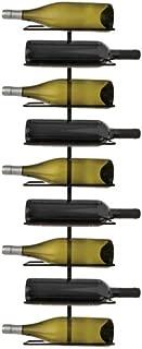 True 0841 Nine Wall-Mounted Wine Rack, 9 Bottle Holder