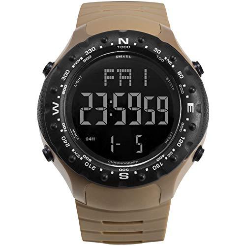 Blisfille Reloj Hombre Acero Inoxidable Reloj Hombre Cuero Reloj de Resina Relojes...