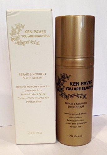 "KEN PAVES, ""You Are Beautiful"" - Repair & Nourish Shine Serum, 1.7 Fl Oz / 50 mL"