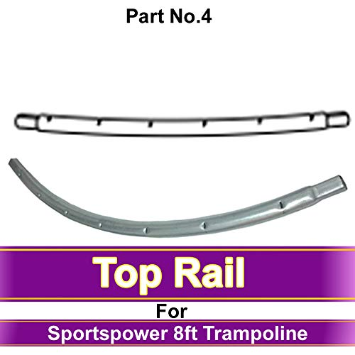 unbeatableoffers SPARE PARTS Sportspower 8ft Trampoline Top Rail (Part No.4)