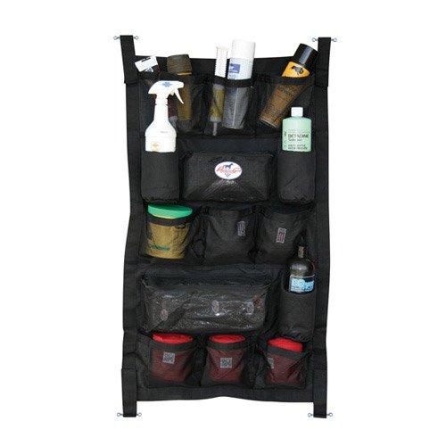 Professionals Choice 24X40 Equine Long Trailer Door Caddy (Black)