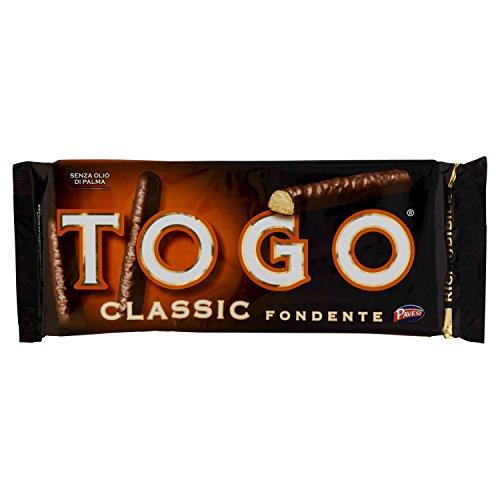 Pavesi Togo Classic Fondente Biscotti Coperti con Cioccolato, 120g