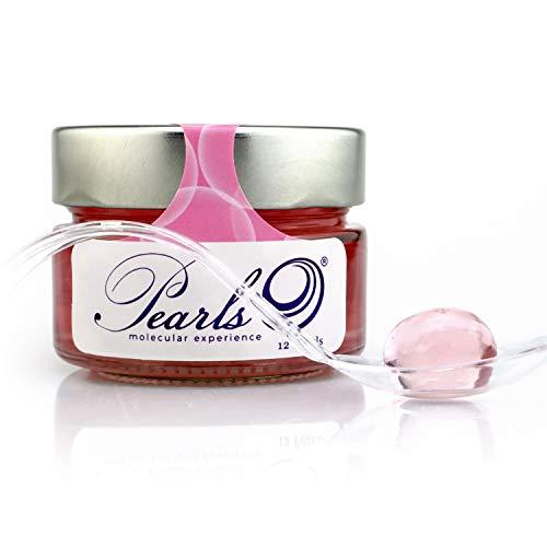 12 Pearls Vodka & Rosas - Esferificaciones Premium listas para consumir (12 unidades). La vanguardia de la Gastronomía Gourmet en su mesa, la Coctelería Molecular. Productos Gourmet 2.0.