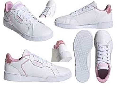 adidas ROGUERA J, Zapatillas Deportivas, FTWBLA/FTWBLA/LILCLA, 38 2/3 EU