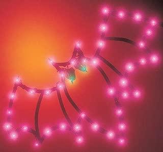 Impact Innovations Halloween Lighted Ornamental Silhouette 14x17 - Bat