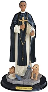 12 Inch Statue Estatua Santo Saint St San Martin de Porres