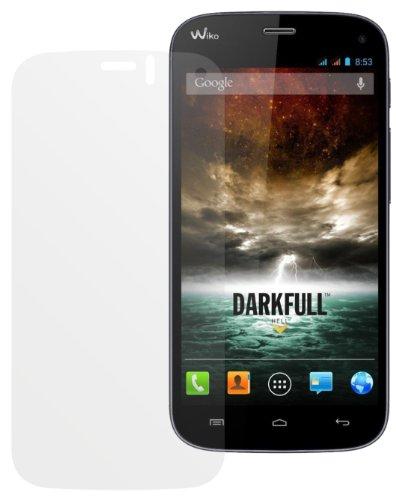 dipos I 6X Schutzfolie matt kompatibel mit Wiko Darkfull Folie Bildschirmschutzfolie