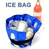 Phayee Paquete de Hielo en Gel, Paquete de Hielo en Gel Flexible, Paquete de frío y Calor Reutilizable con Bandas elásticas, para Terapia de frío y Calor