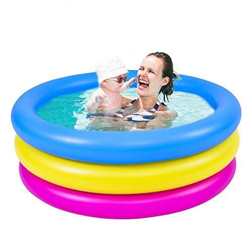 aheadad Piscina hinchable para niños para el centro de natación, para piscinas hinchables para niños, piscina, hinchable con 3 anillos, espesor, para niños y niñas