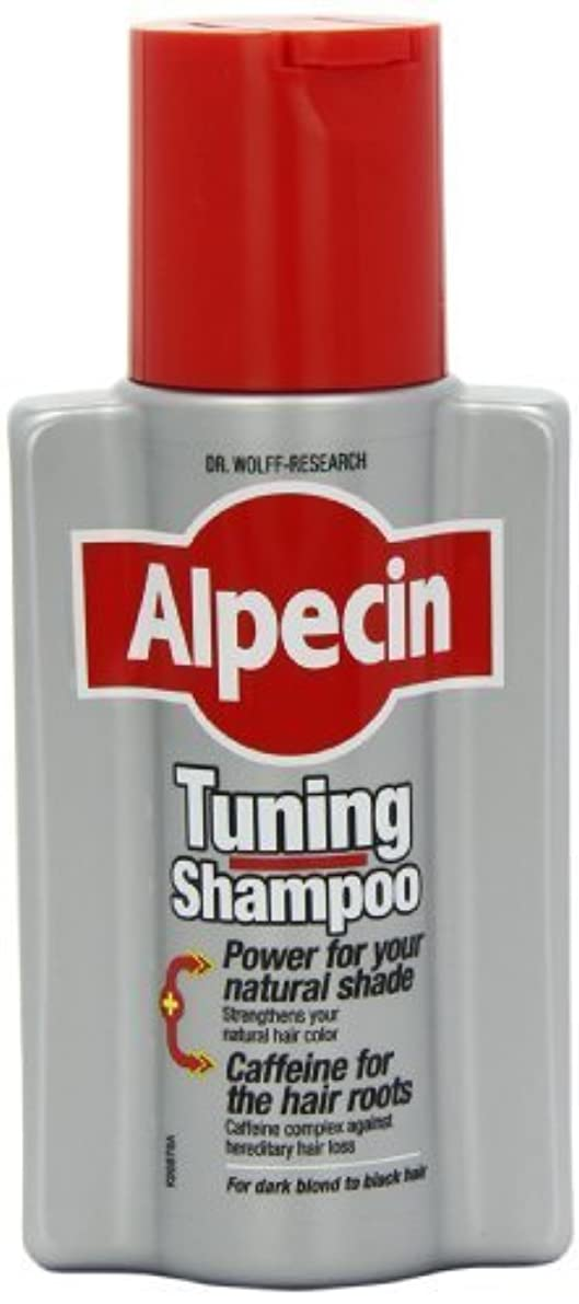 羊飼いである撤退Alpecin Tuning Shampoo 200ml - (Pack of 3) by Acdoco [並行輸入品]