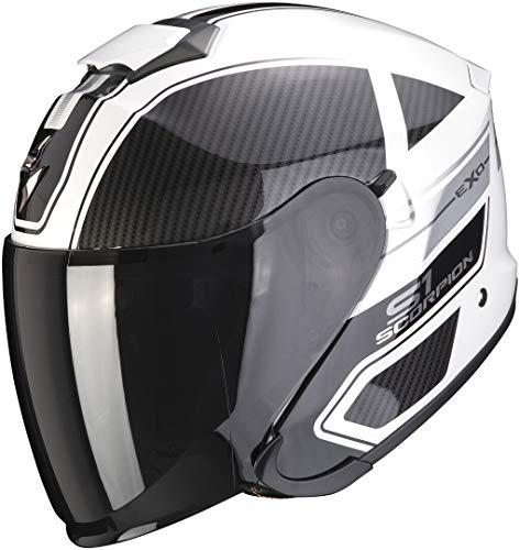 Scorpion EXO-S1 CROSS-VILLE White-Black-Silver L