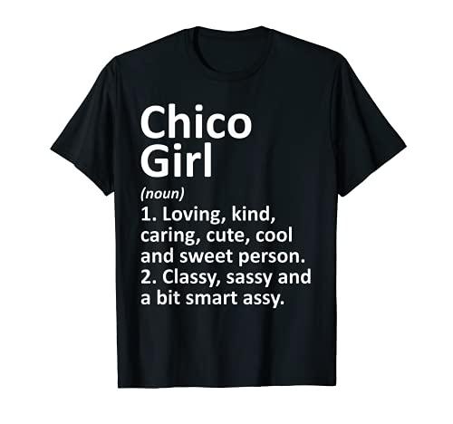 CHICO CHICO CHIL CA CALIFORNIA - Regalo divertido de la ciudad Camiseta