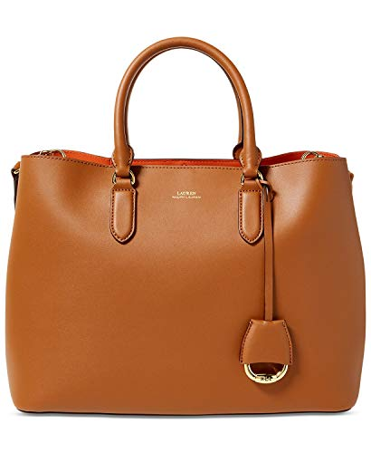 Lauren Ralph Lauren Dryden Marcy Umhängetasche Large Field Brown/Orange, One Size