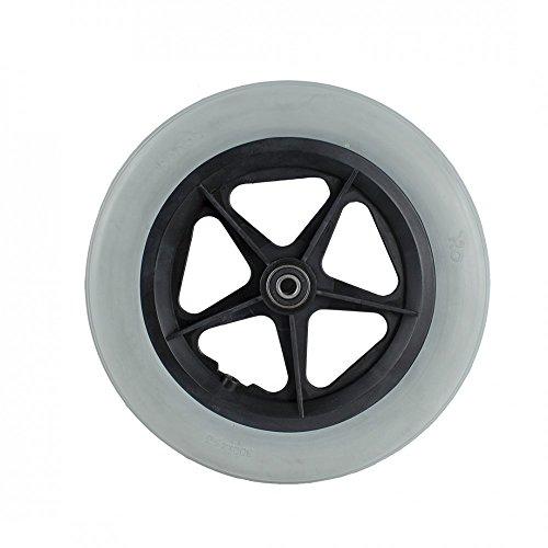 Ayudas Dinámicas - Rueda de 315mm con llanta negra (12.1,2 x 2.1,4) - Maciza, único