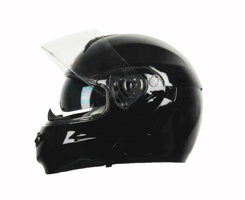 Vega Summit 3.0 Full Face Helmet (Gloss Black, X-Small)