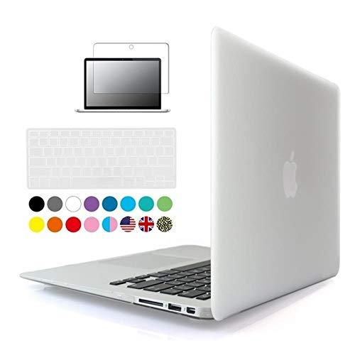 3 en 1 para Apple MacBook Air Pro Retina de 11 pulgadas, 12 pulgadas, 13 pulgadas, 14 pulgadas, 15 pulgadas, 11.6 13.3 15.6 Retina Bar funda para portátil