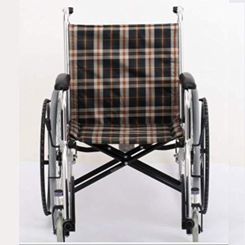 silla de ruedas Aluminio camina portátil silla de ruedas plegable portátil, alquiler de coches, vehículos viajan con discapacidad de edad avanzada ultraligeros