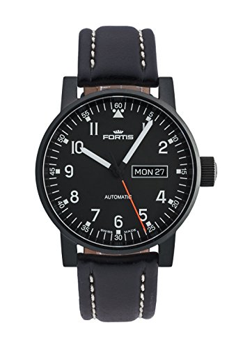 Fortis Herren-Armbanduhr Spacematic Pilot Professional Datum Wochentag Analog Automatik 623.18.71 L.01