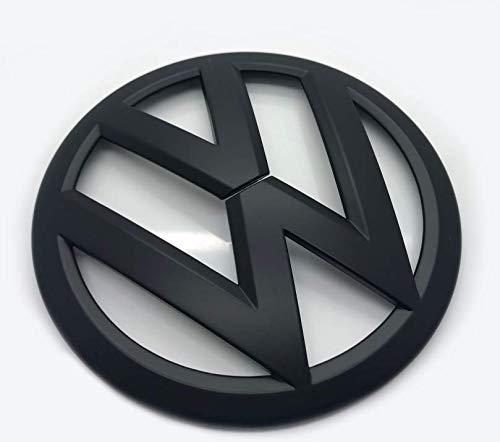 Matt-Schwarz 115mm Vorderes Grill Bonnet Abzeichen Emblem Für Golf MK4 1998-2004