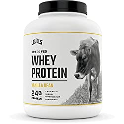 powerful Contents 100% Whey Protein, Grass Fed, GMO Free, Vanilla Pod, 5 lbs.