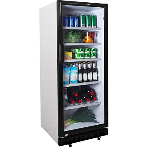 Getränkekühlschrank ZK 310 Flaschenkühlschrank Kühlschrank mit Glastüre Gastro Getränkekühler