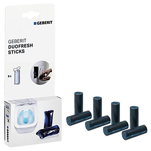 GEBERIT DuoFresh Sticks für Spülkasten| Schachtel mit 8 Stück | Frischeduft und Hygiene im WC | 115.062.21.1