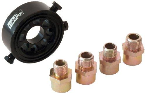 Raid HP 660448 Ölfilter Adapter Set, Öltemperatur, Öldruckgeber mit 4 Gewinden