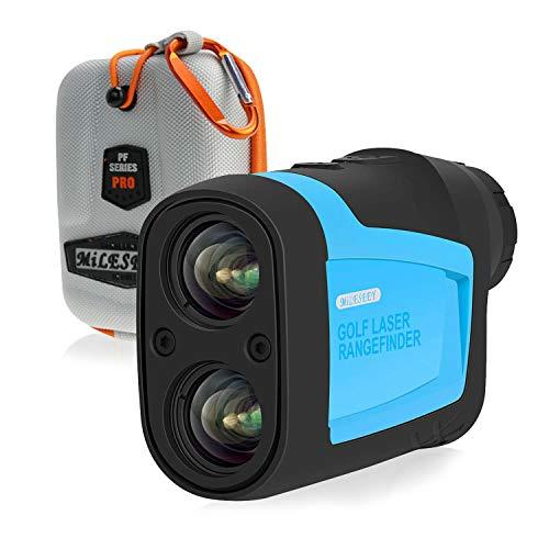 MiLESEEY Télémètre Laser de Golf Pro - Binoculaire de précision - avec 660 Verges de grossissement 6X avec Inclinaison/Axe/modèle de Balayage pour l'entraînement de Golf