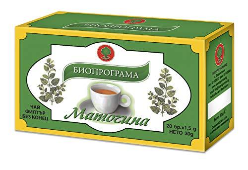 Zitronenmelisse Tee 20 Beutel | Bioprogramm für Kuker Melissa Officinalis 30g