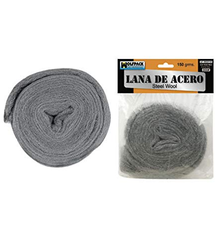 WOLFPACK LINEA PROFESIONAL Lana De Acero 150 gr. 000 Extrafino