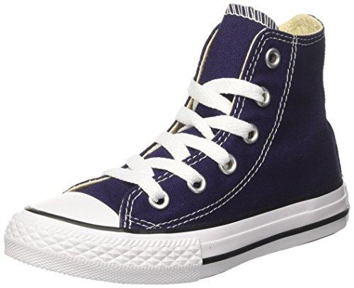Converse Unisex-Kinder CTAS Hi Canvas Seasonal Hohe Sneaker, Blu (Midnight Indigo), 34 EU