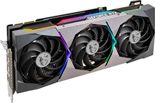 MSI GeForce RTX 3090 Suprim X 24GB GDDR6X Gaming Grafikkarte 3xDP/HDMI