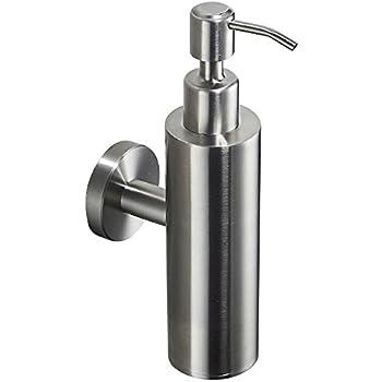 KOHLER Purist Wall-Mount Metal Soap Dispenser in Vibrant Brushed Nickel