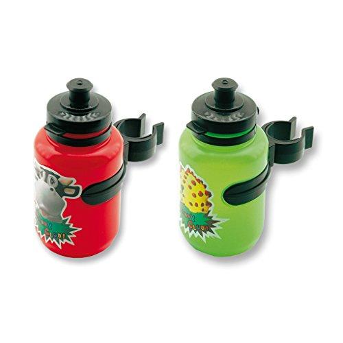 Flaschenhalter plus Flasche Kind Rahmen oder Lenkstange Anhang Fahrrad