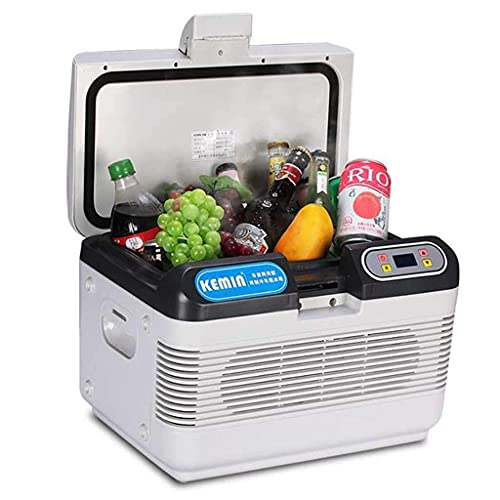 Hogar pequeño mini refrigerador, 12L pequeño refrigerador mini pequeño refrigerador del hogar refrigerador del coche dormitorio de una puerta del coche del hogar del doble uso durable