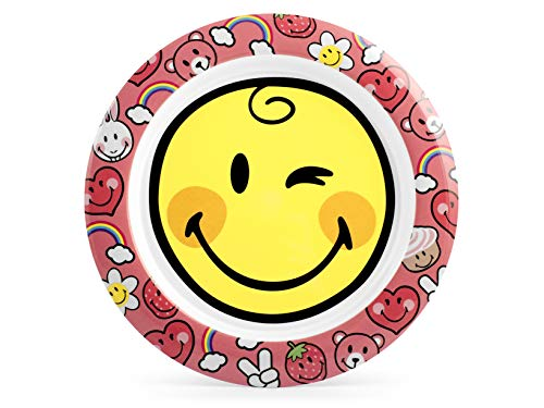 Lulabi Smiley Girl bord, melamine, Cm22-400 g