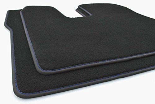 kh Teile LKW Fußmatten Man TGX (Blaue Naht) Original Qualität Autoteppich, 2-teilig Fahrer+Beifahrermatte