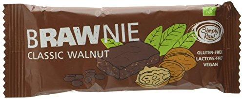 Simply Raw Bio Brawnie Classic Walnut, vegan, glutenfrei, laktosefrei, 45 g