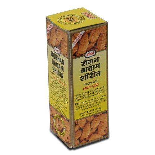 Preisvergleich Produktbild Hamdard Rogan Badam Shirin Sweet Almond 100% Pure 50ml Relieves Tension Good for Heart Relieves constipation Fights Dandruff