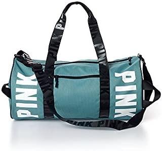 PINK Gym Duffle Tote Bag (Black Gradient)