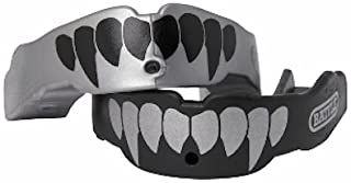 Battle Fangs Football Mouthguard – Sports Mouth Guard with Removable Strap –..
