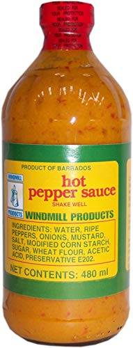 Windmill Products Hot Pepper Sauce 480ml by Windmill Products