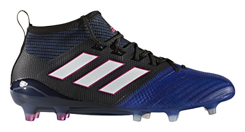 adidas Herren Ace 17.1 Primeknit Fg für für Fußballtrainingsschuhe, Schwarz (Nero Negbas/ftwbla/Azul), 42 2/3 EU