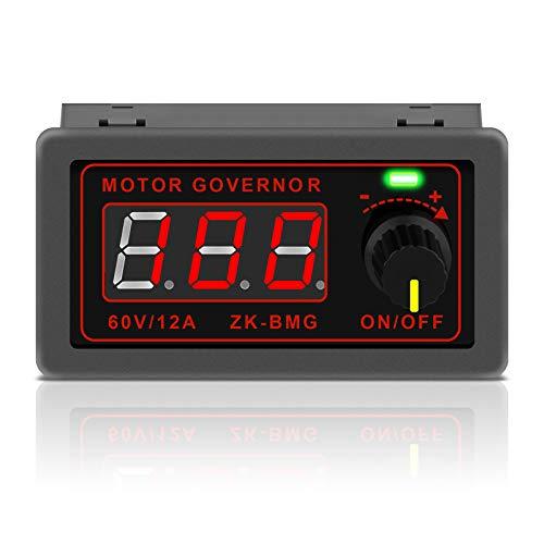 Controlador de velocidad de motor PWM DC 12V 24V 60V 500W Regulador de velocidad ajustable con interruptor giratorio variable constante PWM módulo de controlador